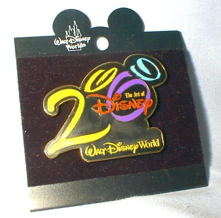 2000 - LIMITED EDITION  DISNEY WORLD COLLECTOR PIN