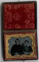 VICTORIAN AMBROTYPE OF COUPLE