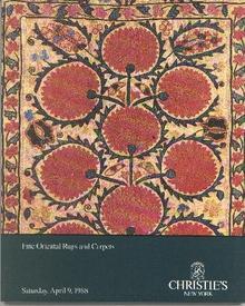 1988 CHRISTIE'S FINE ORIENTAL RUGS & CARPETS