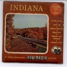 INDIANA - 3 REEL VIEWMASTER SET