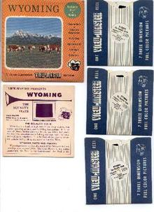 WYOMING - 3D VIEWMASTER REEL SET