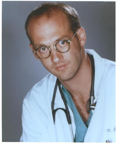 ER's - ANTHONY EDWARDS COLOR PHOTO