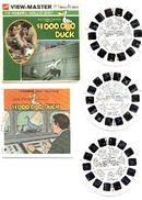 $1,000,000 (MILLION DOLLAR) DUCK - WALT DISNEY MOVIE VIEWMASTER REEL SET