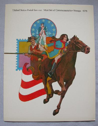 1975 USPS SOUVENIR MINT SET