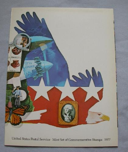 1977 USPS SOUVENIR  MINT SET
