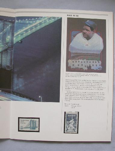 1983 USPS SOUVENIR  MINT SET BOOK - 1984 Olympics stamps