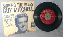 ORIGINAL GUY MITCHELL  45 RPM RECORD with PICTURE SLEEVE
