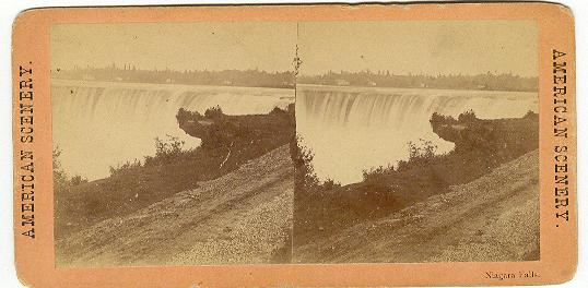 STEREOVIEW - NIAGARA FALLS