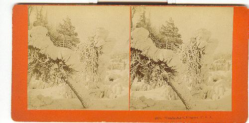 STEREOVIEW - WONDERLAND, NIAGARA, U.S.A.