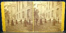 STEREOVIEW - PLAYING CROQUET