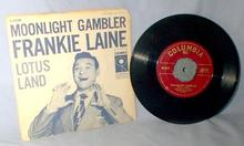 ORIGINAL FRANKIE LANE 45 RPM RECORD with PICTURE SLEEVE