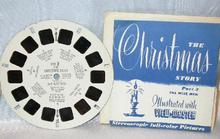 TWO VIEWMASTER REELS - CHRISTMAS STORY PARTS 2 & 3