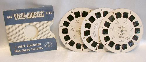 THREE VIEWMASTER REELS - WISCONSIN DELLS