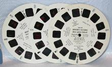 THREE VIEWMASTER REELS - MERAMAC CAVERNS