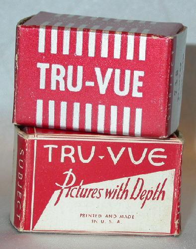 TWO TRU-VUE FILM STRIPS OF