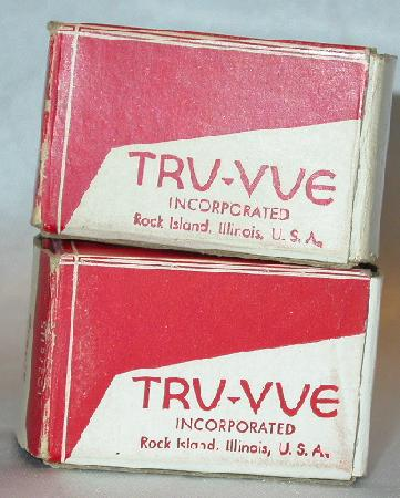 TWO TRU-VUE FILM STRIPS OF