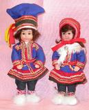 PAIR OF VERY CUTE DOLLS