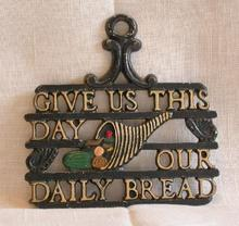 TRIVET - GIVE US THIS DAY OUR DAILY BREAD