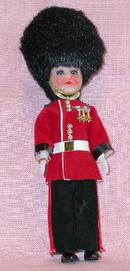 LONDON TOWER GUARD DOLL IN FULL UNIFORM
