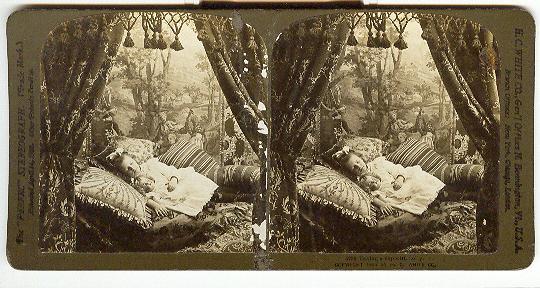 1904 DOLL STEREOVIEW -