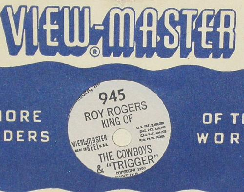 THREE VIEWMASTER REELS - COWBOYS