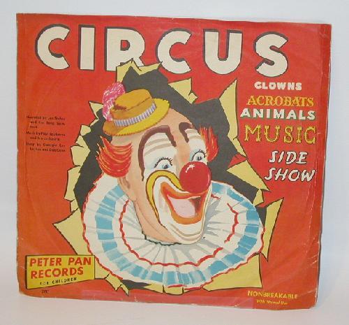 VINTAGE CHILDREN'S RECORD - CIRCUS