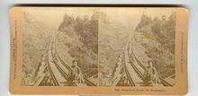 CHILD STEREOVIEW -  HOMEWARD BOUND, MT. WASHINGTON
