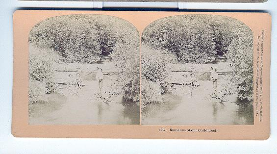 CHILD STEREOVIEW -  ROMANCE OF OUR CHILDHOOD