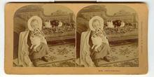 CHILD STEREOVIEW -  LITTLE GRANDMA