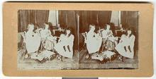 CHILD STEREOVIEW -  CHILDREN'S DOLL PARTY