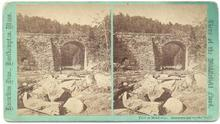 GREAT STEREOVIEW  OF THE MIDDLEFIELD FLOOD