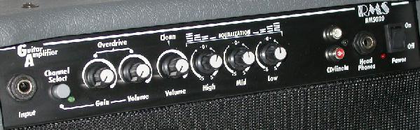 20 WATT - RMS GUITAR AMPLIFIER