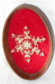 INTRICATE QUILL WORK PLAQUE