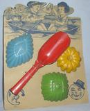 1930s CHILDREN'S  SAND TOYS - ORIGINAL AND UNUSED!!