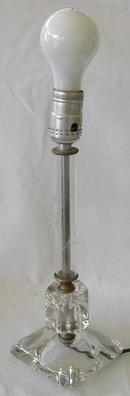 VERY NICE CRYSTAL TABLE LAMP