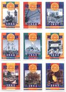 DISNEYLAND - COMPLETE SET OF 40th ANNIVERSARY COLLECTOR CARDS