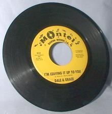 ORIGINAL DALE AND GRACE 45 RPM