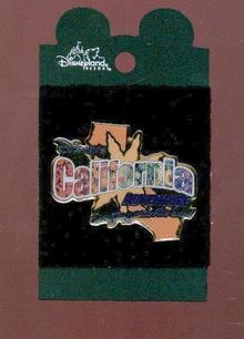 DISNEY'S CALIFORNIA ADVENTURE COLLECTOR PIN