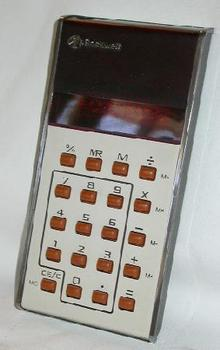 EARLY HAND HELD CALCULATOR