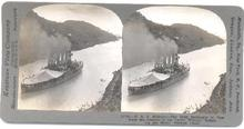 STEREOVIEW - BATTLESHIP -  U.S.S. MISSOURI