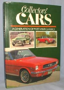BOOK - COLLECTORS' CARS - A GENERATION OF POST-WAR CLASSICS