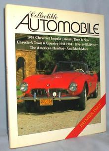 BOOK - COLLECTIBLE AUTOMOBILES