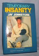 JAY JOHNSTONE (FORMER L.A. DODGER) - AUTOGRAPHED BOOK
