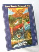 DISNEY'S CALIFORNIA ADVENTURE - GRAND OPENING BADGE