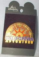 DISNEY'S CALIFORNIA ADVENTURE - SUN PIN