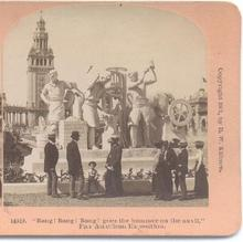 STEREOVIEW -  PAN AMERICAN EXPOSITION