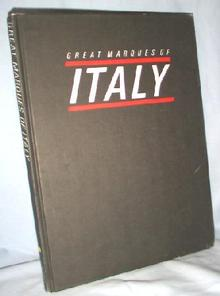 GREAT BOOK - GREAT MARQUES OF ITALY