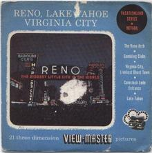 RENO & LAKE TAHOE - VIEWMASTER 3 REEL PACKET