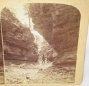 OLD GURNSEY ROCKY MOUNTAIN STEREOVIEW - WILLIAMS CANYON