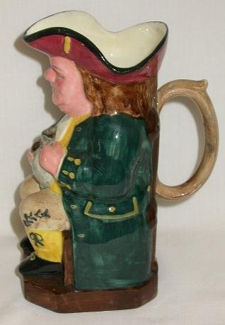 TOBY MUG BY RIDGWAY MADE IN ENGLAND